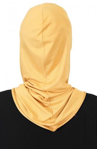 Bonnet Couvrant le Visage TB0002-11 Moutarde 0002-11