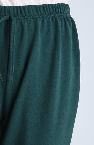 Joggingshose mit elastischer Arm 1558-06 Smaragdgrün 1558-06