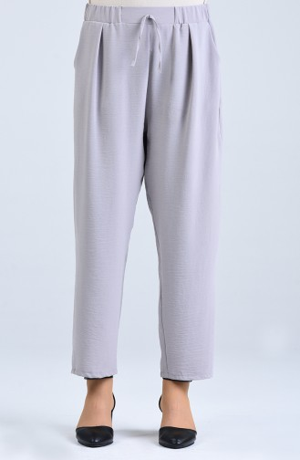 Elastische Hose aus Aerobin Stoff 4091-03 Grau 4091-03
