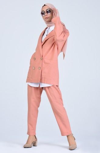 Pinkish Orange Sets 1703-02