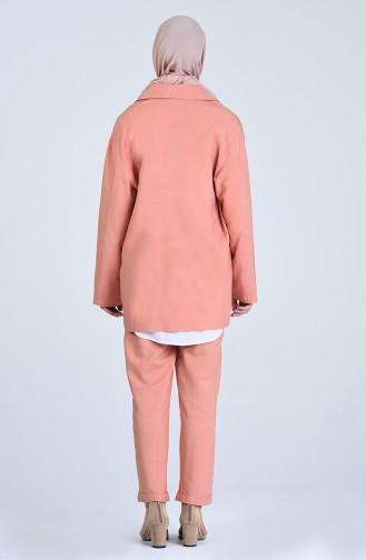 Ensemble Rose Orange pâle 1703-02