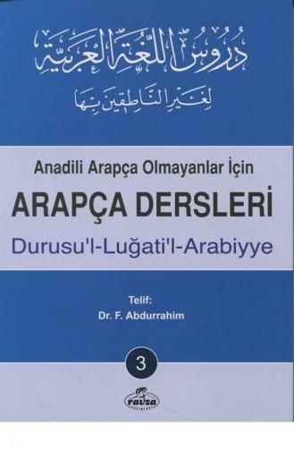Arapça Dersleri Durusulluğatilarabiyye 3 1763350