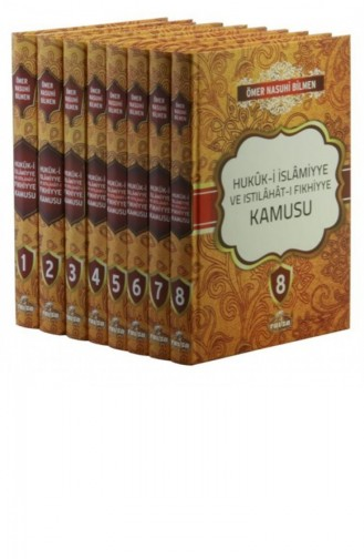 Hukuki İslamiyye Ve Istılahatı Fıkhiye Kamusu 8 Cilt Şamuha Kağıt 1079859
