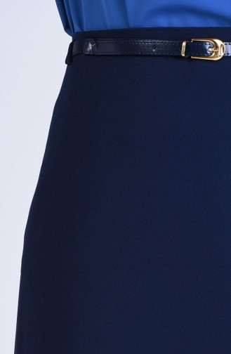 Navy Blue Rok 2220-01