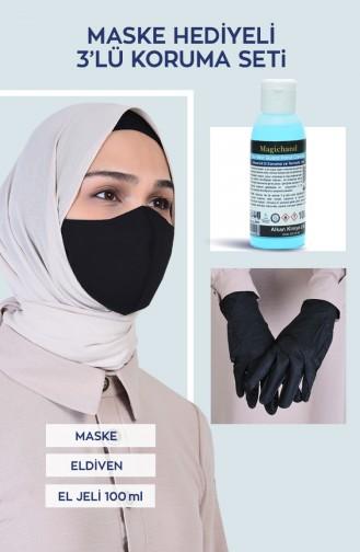 Dreifaches Schutzset mit Maskengeschenk 0106 0106-01