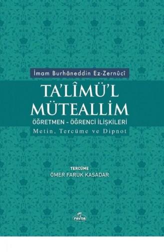 Talimül Müteallim 1461009