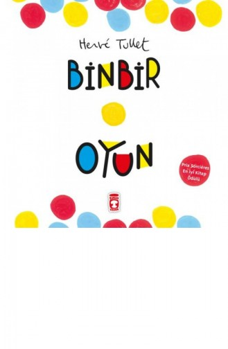Binbir Oyun Karton Kapak Herve Tullet 9786050807158
