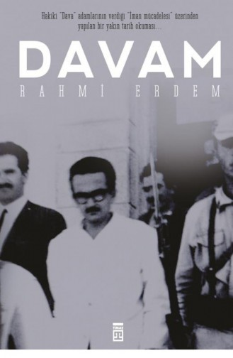 Davam Rahmi Erdem 9789753620918