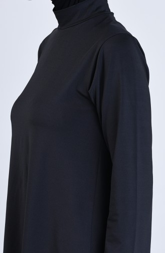 Black Swimsuit Hijab 20118-01