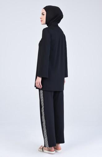 Black Swimsuit Hijab 20130-01