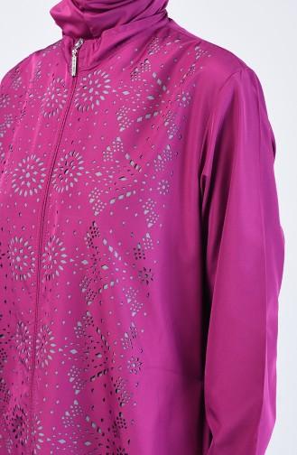 Maillot de Bain Hijab Plum 20150-02