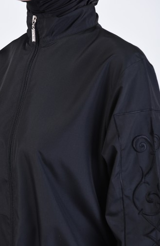 Black Swimsuit Hijab 20152-01