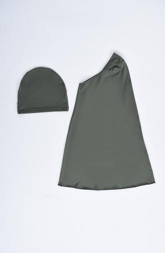 Khaki Swimsuit Hijab 20152-02