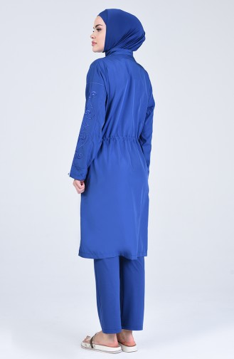 Indigo Swimsuit Hijab 20152-03