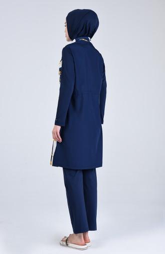 Navy Blue Swimsuit Hijab 20181-02