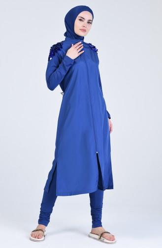 Indigo Hijab Badeanzug 20200-03