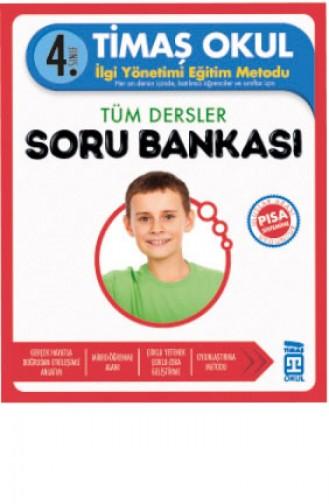 4 Sınıf Tüm Dersler Soru Bankası Celal Akbaş 9786050817492