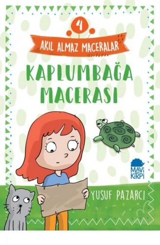 Kaplumbağa Macerası 4 Akıl Almaz Maceralar 4 Sınıf Yusuf Pazarcı 9789752452770