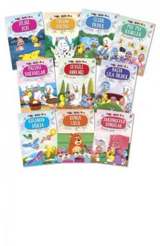 Mini Masallar 4 Set 10 Kitap Nalan Aktaş Sönmez 9786050829198