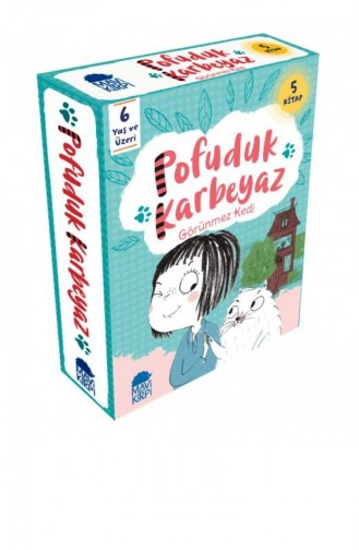 Pofuduk Karbeyaz Set 5 Kitap Pip Jones 9789752452886