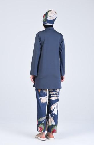 Anthracite Swimsuit Hijab 20118-03