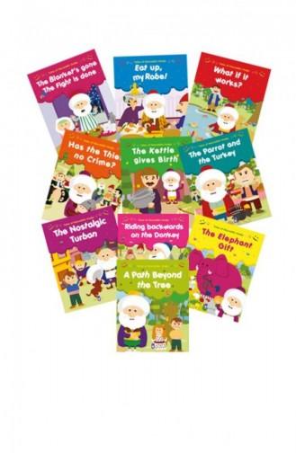 Tales Of Nasreddin Hodja Set 10 Books Nasreddin Hoca Fıkraları Set en Anglais Gamze Alıcı 9786050814859