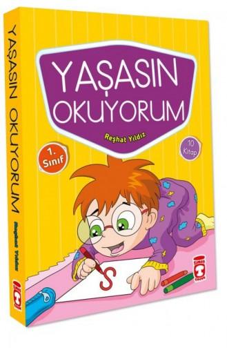 Yaşasın Okuyorum Set 10 Kitap Reşhat Yıldız 9786050827354