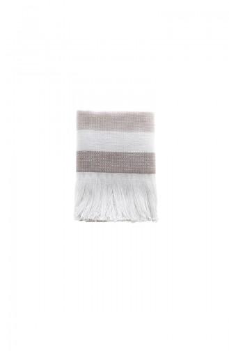Hobby Stripe Havlu 30x50 55-01 Kahverengi