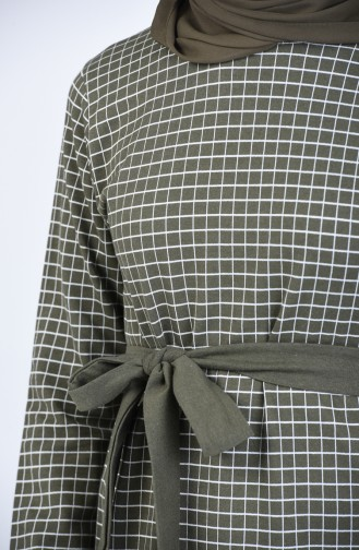Plaid Tunic Trousers Double Suit 2009-02 Khaki 2009-02