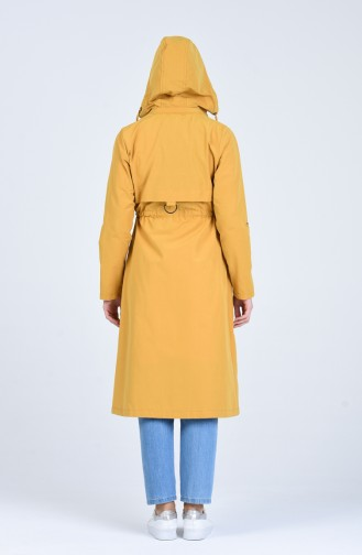 Trench Coat Moutarde 6086-07