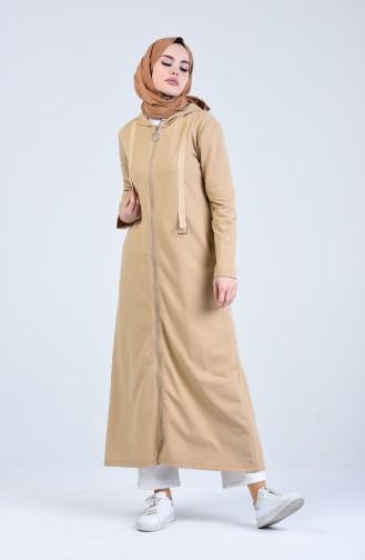 Beige Abayas 0841-01