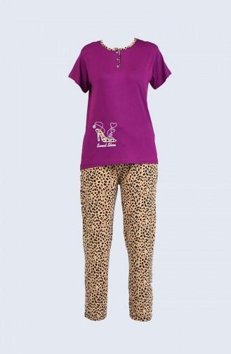 Zwetschge Pyjama 5020-03
