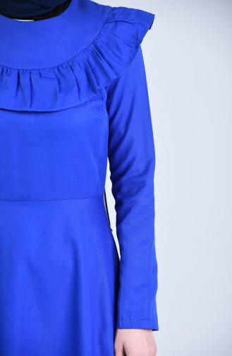 Saxon blue İslamitische Jurk 7269-03