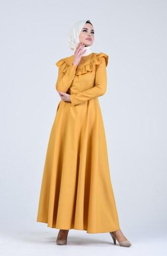 Yellow İslamitische Jurk 7269-04