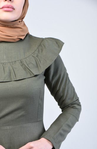 Robe Hijab Khaki 7269-06