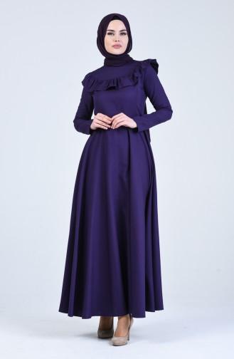 Purple İslamitische Jurk 7269-08