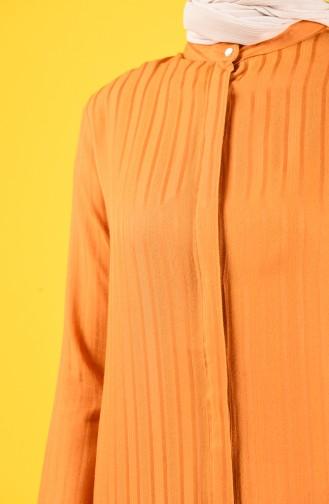 Tunik Pantolon İkili Takım 9036-01 Hardal