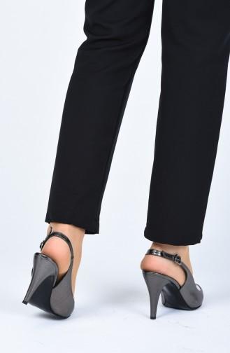 Platin High Heels 0022-02