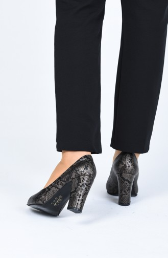 Khaki High Heels 0121-06