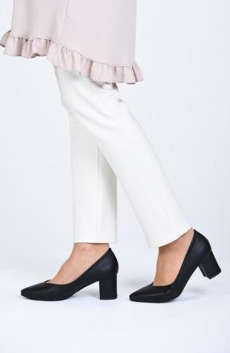 Chaussures a Talons Noir 0610-09