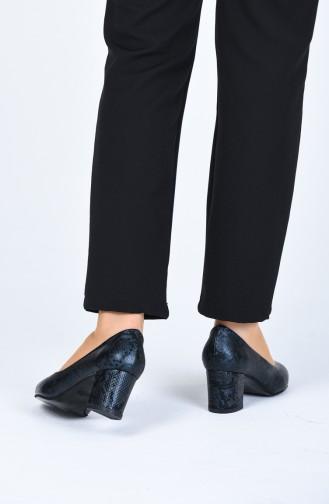 Chaussures a Talons Bleu Marine 0610-12