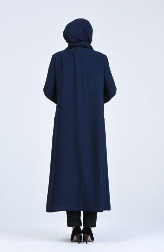 Abayas Bleu Marine 5049-02