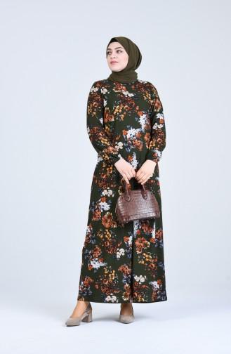 فستان كاكي 8869-01
