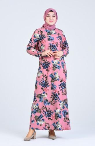 فستان باودر 8869-03
