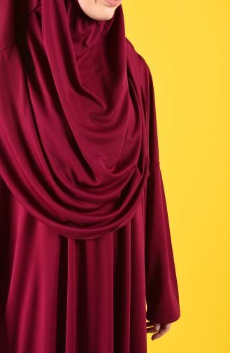 Fuchsia Praying Dress 0900-03