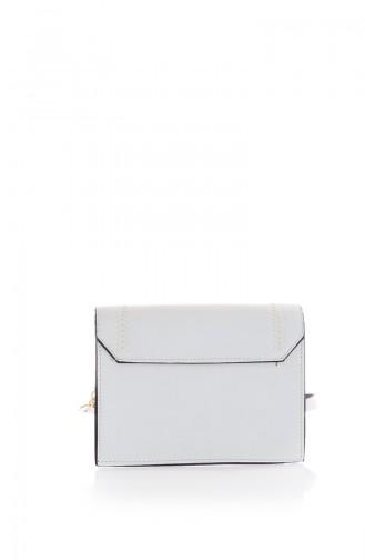 Sac D`épaule Blanc 199Z-01