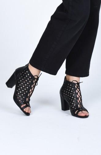 Chaussures a Talons Noir 0105-06