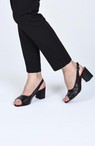 Bayan Topuklu Ayakkabı MY9056-03 Kahverengi Yılan 9056-03