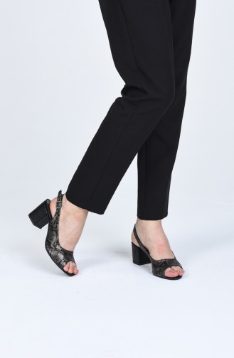 Chaussures a Talons Khaki 9056-10