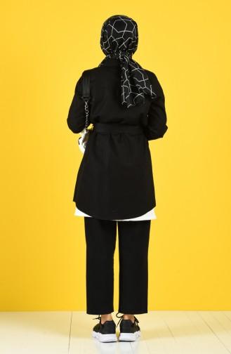 Schwarz Trench Coats Models 8223-01